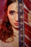 Indische vrouw Royalty-vrije Stock Foto's