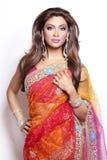 Indische vrouw stock foto's