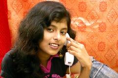 Indische vrouw. Royalty-vrije Stock Foto