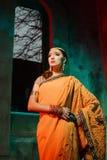Indische vrouw Royalty-vrije Stock Afbeelding