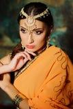 Indische vrouw Royalty-vrije Stock Foto