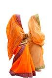 Indische vrouwen royalty-vrije stock afbeelding
