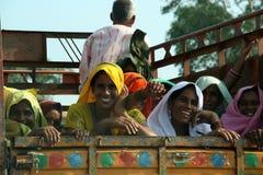 Indische vrouwen stock foto's