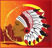 Indische Vuurhaard Royalty-vrije Stock Afbeeldingen
