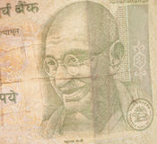 Indische Währungs-Rupien-Anmerkungen Stockbilder