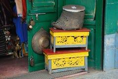 Indische Winkel Royalty-vrije Stock Afbeeldingen