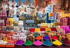 Indische winkel Stock Foto's