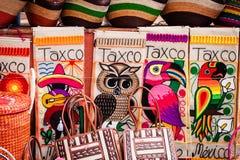 Indische Wolldecke und umfassende bunte Anzeige in Handelsstation Latein A Stockbild
