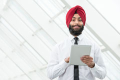 Indische zakenman Royalty-vrije Stock Foto