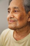 Indischer älterer Bürger Stockfotos