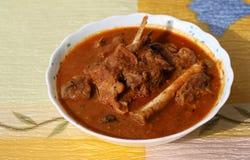 Indischer Arthammelfleischcurry Stockbilder