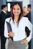 Indischer Büroangestellter lizenzfreie stockfotos