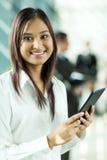 Indischer Büroangestellter lizenzfreies stockbild