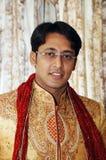 Indischer Bräutigam Stockfotografie
