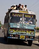 Indischer Bus Stockbild