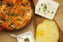 Indischer Curry Lizenzfreies Stockbild