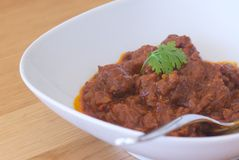 Indischer Curry Stockfotografie
