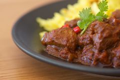 Indischer Curry Stockbild