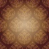 Indischer Damast-nahtloses Muster Stockbild