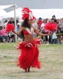 Indischer Eingeborener des Festivals - Hawaii-Tänzer Lizenzfreie Stockfotografie
