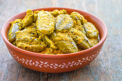 Indischer Gemüsecurry stockbilder
