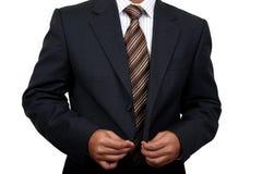 Indischer Geschäftsmann, der fertig wird, zu Büro (1) zu gehen Lizenzfreie Stockfotografie