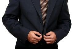 Indischer Geschäftsmann, der fertig wird, zu Büro (2) zu gehen Lizenzfreie Stockbilder