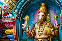 Indischer Gott Lizenzfreie Stockbilder