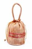 Indischer handgemachter Geschenk-Beutel Stockfotos