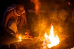 Indischer heiliger Mann Stockbilder