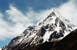 Indischer Himalaja stockbild