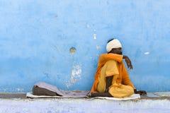 Indischer hinduistischer Pilgerer Stockbilder