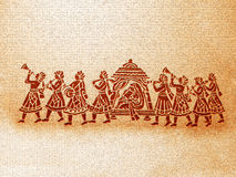 Indischer Hochzeits-Hintergrund Lizenzfreies Stockbild