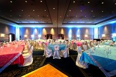Indischer Hochzeitsempfang Stockfotos