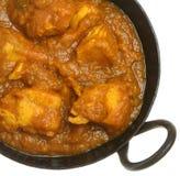 Indischer Huhn Dansak Curry lizenzfreie stockfotos