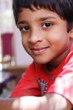 Indischer Junge stockfoto