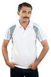 Indischer junger Mann Stockfotografie