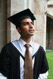 Indischer Kerl in einem Staffelungkleid. Lizenzfreie Stockbilder