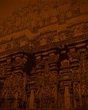 Indischer Kunst-Hintergrund Lizenzfreie Stockfotografie