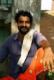 Indischer Ladenbesitzer Lizenzfreie Stockfotos