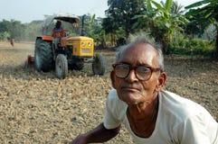 Indischer Landwirt. lizenzfreie stockfotos