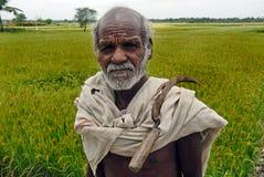 Indischer Landwirt lizenzfreie stockbilder