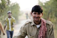 Indischer Landwirt stockbilder