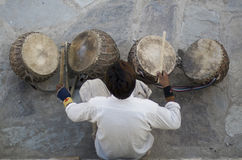 Indischer Musiker Lizenzfreies Stockbild