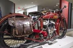 1920 indischer Pfadfinder Motocycle Lizenzfreie Stockfotos