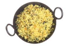 Indischer Pilau Reis Lizenzfreies Stockbild
