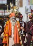 Indischer Priester Stockbild