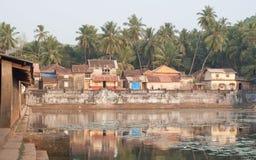 Indischer sakraler Teich Stockbilder