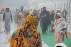 Indischer Schal Stockfotografie