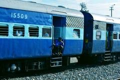 Indischer Schienenblockwagen Stockbilder